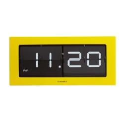 Reloj sobremesa flip prince amarillo