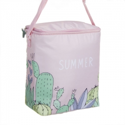 Nevera portatil summer cactus 25x14x31 cm