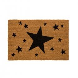 Felpudo original estrellas negro 40x60 cm