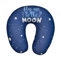 Cojin de viaje poliester moon