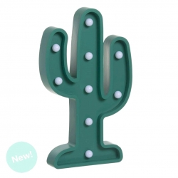 Cactus de leds decorativa .