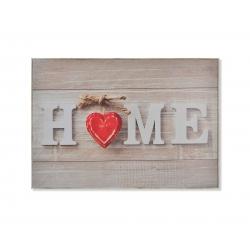 Tapa de contador romantico HOME 46x32x7 cm