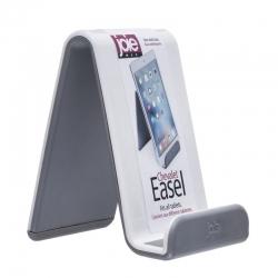 Soporte para tablet blanco gris