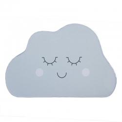 Alfombra multiuso extrasuave nube azul