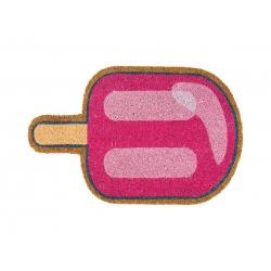 """Felpudo Original y Divertido Entrada Puerta Casa forma """"LOLLIPOP"""" Piruleta Caramelo Rosa"""