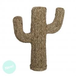 Cactus decorativo hecho de alga 55 cm de altura