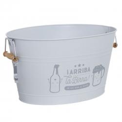 Cubitera 18 litro con abridor arriba la birra