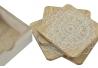 Set 4 posavasos de madera mandala 10x10