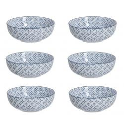 Juego de 6 Boles grande de ceramica