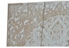 Panel decoracion pared de madera mandala