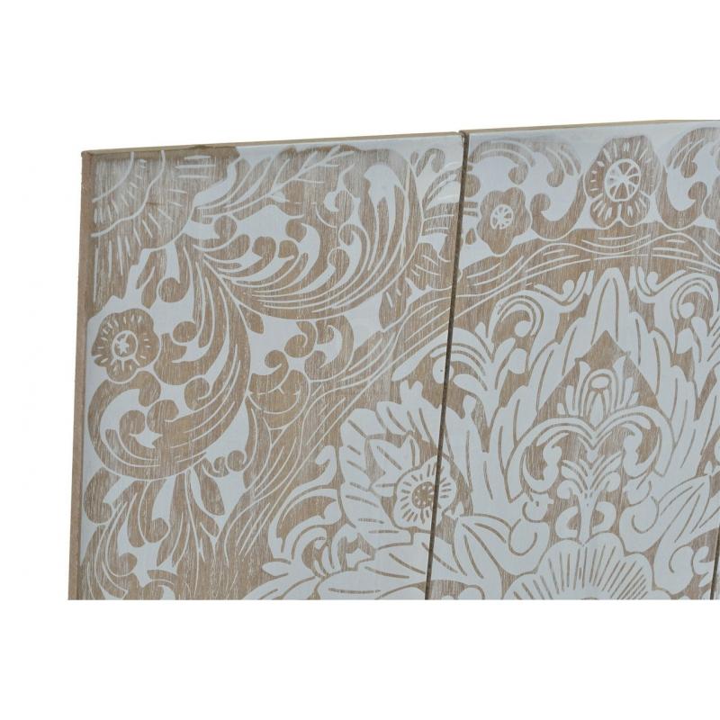 Panel decoracion pared de madera mandala - Murales de madera ...