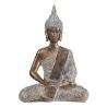 Figura zen dorada de resina oriental para la entrada Sol Naciente