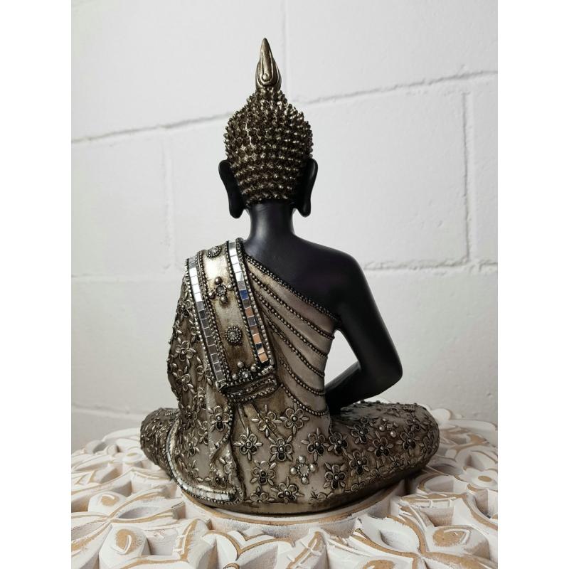 Figura buda de suerte sentado resina 30 cm decoracion dcasa - Figuras buda decoracion ...