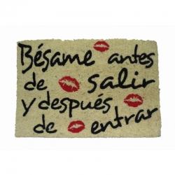 Felpudo Bésame, Coco, 60 x 40 cm