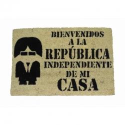 Felpudo República Independiente, Coco, 60x40