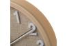 Reloj pared de plástico beige moderno para cocina Bretaña