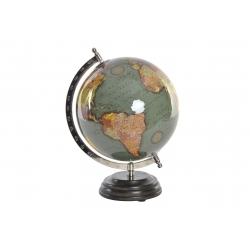 Bola del Mundo,Terraqueo verde 20 cm