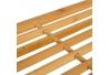 Zapatero de 2 nivel bambu natural 76x33x33 cm