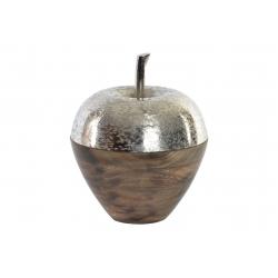 Figura manzana acacia aluminio