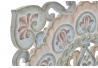 Mural tallado de madera para decoración mandala 50x50 cm