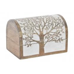 Caja joyero de madera mango arbol decape