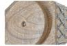 Portamandos giratorio madera metal con 6 compartimentos .