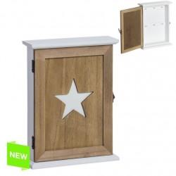 Caja colgador llaves diseño estrella original Medida: 17x6x26 cm