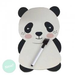 """Pizarra magnetica con marcador """"Oso panda"""""""