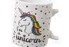 Pack 2 Tazas ceramica fancy unicornio