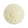 Bola rosas blanco foam para decoracion 26 cm
