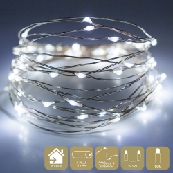 Luces led modernas blancas de metal para decoración Christmas