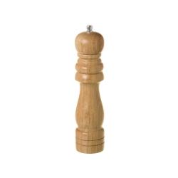 Molinillo de madera para especias marrón clásico de cocina Basic