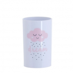 Vaso de plastico Nube rosa