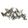 Mural de metal cabecero mariposas para decoración