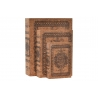 Juego 3 caja libro de corcho madera mandala