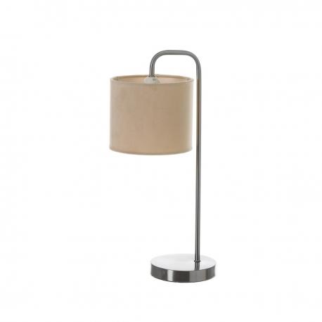 Lámpara de sobremesa de metal beige moderna para salón France