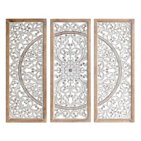 Murales decorativos de paredes para cabecero de cama - Set 3 pieza