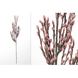 Rama con flores foam rosa