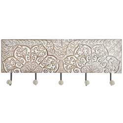 Perchero de pared mango metal 5 colgadores