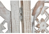 Biombo plegable de madera mango 3 paneles decape 150x180 cm
