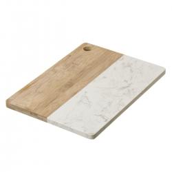 Tabla de cortar de mármol blanca provenzal para cocina France