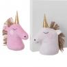 Set de 2 sujetapuertas de unicornio de tela / arena dorado infantil para dormitorio Child