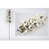 Rama con flores en tonos crema 91 cm