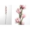 Rama con flores foam en tonos rosa claro 100 cm