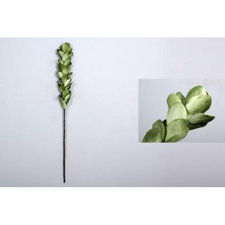 Rama con flores foam hojas verde 100 cm