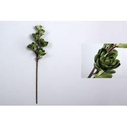 Rama con flores foam verde 92 cm