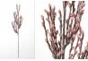 Rama con flores foam en tonos rosa 75 cm