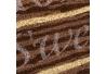 Felpudo original de fibra de coco natural marrón rústico para la entrada Vitta