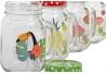 Set 4 jarras tropical colores surtido