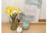 Rama con flores lirio blanco y amarillo 20x15x37 cm